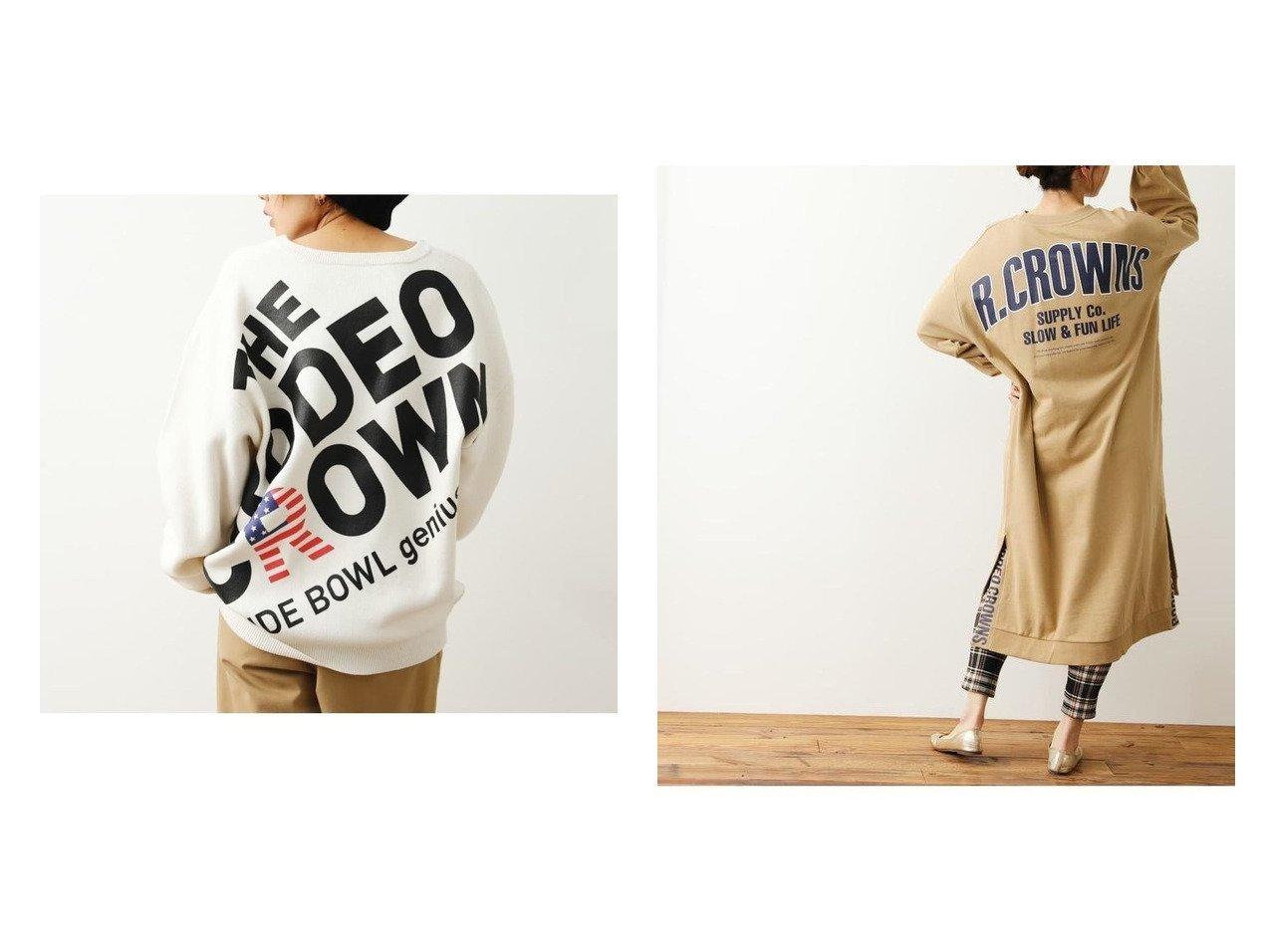 【RODEO CROWNS WIDE BOWL/ロデオクラウンズワイドボウル】のサイドベンツロゴワンピース&バックスラッシュロゴニットトップス RODEO CROWNS WIDE BOWLのおすすめ!人気、トレンド・レディースファッションの通販 おすすめで人気の流行・トレンド、ファッションの通販商品 メンズファッション・キッズファッション・インテリア・家具・レディースファッション・服の通販 founy(ファニー) https://founy.com/ ファッション Fashion レディースファッション WOMEN トップス Tops Tshirt ニット Knit Tops ワンピース Dress シンプル フロント スリット デニム プリント ボトム レギンス  ID:crp329100000018520
