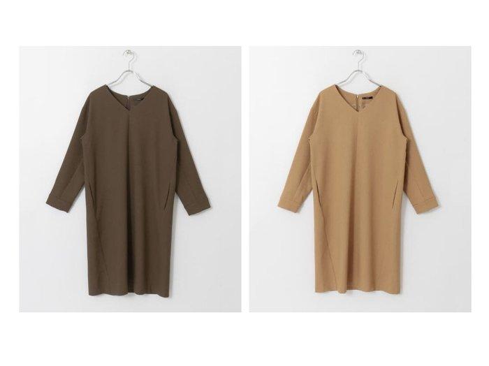 【URBAN RESEARCH ROSSO/アーバンリサーチ ロッソ】のAラインワンピース URBAN RESEARCH DOORSのおすすめ!人気、トレンド・レディースファッションの通販 おすすめファッション通販アイテム レディースファッション・服の通販 founy(ファニー) ファッション Fashion レディースファッション WOMEN ワンピース Dress Aラインワンピース A-line Dress アクセサリー シンプル スカーフ ボトム ポケット |ID:crp329100000018582