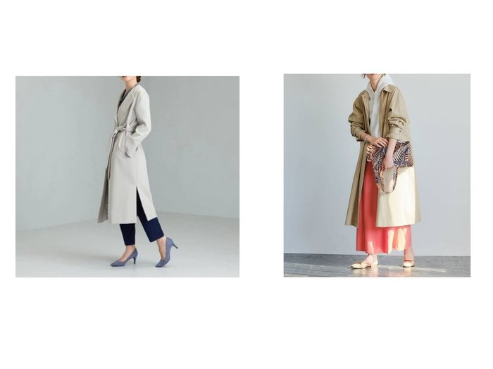 【green label relaxing / UNITED ARROWS/グリーンレーベル リラクシング / ユナイテッドアローズ】のSC Aライン ステンカラー コート&[ 手洗い可能 ] CS ツイル ラップ コート UNITED ARROWSのおすすめ!人気、トレンド・レディースファッションの通販 おすすめファッション通販アイテム レディースファッション・服の通販 founy(ファニー) ファッション Fashion レディースファッション WOMEN アウター Coat Outerwear コート Coats インナー エアリー 春 Spring ガウン シンプル スリーブ ダウン トレンド 定番 Standard バランス マキシ 秋 Autumn/Fall スリット ツイル ラップ |ID:crp329100000018587