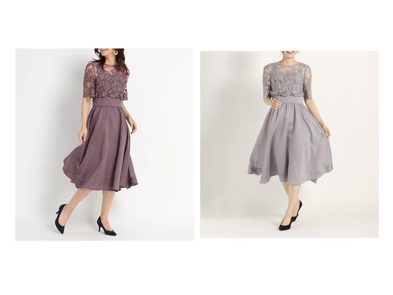【STRAWBERRY FIELDS/ストロベリーフィールズ】のDVシアーシャンタン ドレス STRAWBERRY FIELDSのおすすめ!人気、トレンド・レディースファッションの通販 おすすめで人気の流行・トレンド、ファッションの通販商品 メンズファッション・キッズファッション・インテリア・家具・レディースファッション・服の通販 founy(ファニー) https://founy.com/ ファッション Fashion レディースファッション WOMEN ワンピース Dress ドレス Party Dresses エレガント シャンタン シルク ドッキング ドレス レース 羽織 |ID:crp329100000018638