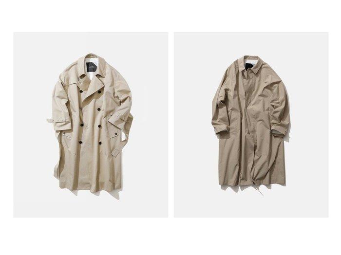 【ATON/エイトン】のバルマカーンコート(UNISEX)&オーバーサイズ トレンチコート(UNISEX) ATONのおすすめ!人気、トレンド・レディースファッションの通販 おすすめファッション通販アイテム レディースファッション・服の通販 founy(ファニー) ファッション Fashion レディースファッション WOMEN アウター Coat Outerwear コート Coats ジャケット Jackets トレンチコート Trench Coats NEW・新作・新着・新入荷 New Arrivals 送料無料 Free Shipping UNISEX カリフォルニア ジャケット トレンチ ラップ クラシック 定番 Standard |ID:crp329100000018658