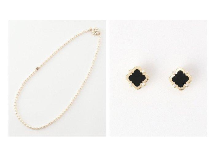 【TOCCA/トッカ】のCLOVER EARRINGS イヤリング&PEARL LONG NECKLACE ネックレス TOCCAのおすすめ!人気、トレンド・レディースファッションの通販  おすすめファッション通販アイテム レディースファッション・服の通販 founy(ファニー) ファッション Fashion レディースファッション WOMEN ジュエリー Jewelry ネックレス Necklaces リング Rings イヤリング Earrings 送料無料 Free Shipping S/S 春夏 SS Spring/Summer クリスタル ドレス ネックレス ロング A/W 秋冬 AW Autumn/Winter / FW Fall-Winter 冬 Winter イヤリング カラフル ジュエリー パール ビジュー ベビー  ID:crp329100000018671