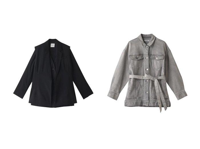 【Ezick/エジック】のベストツキジャケット&ビックデニムジャケット Ezickのおすすめ!人気、トレンド・レディースファッションの通販 おすすめファッション通販アイテム レディースファッション・服の通販 founy(ファニー) ファッション Fashion レディースファッション WOMEN アウター Coat Outerwear ジャケット Jackets デニムジャケット Denim Jackets 2021年 2021 2021 春夏 S/S SS Spring/Summer 2021 S/S 春夏 SS Spring/Summer キルティング ジャケット セットアップ ベスト 春 Spring |ID:crp329100000018722