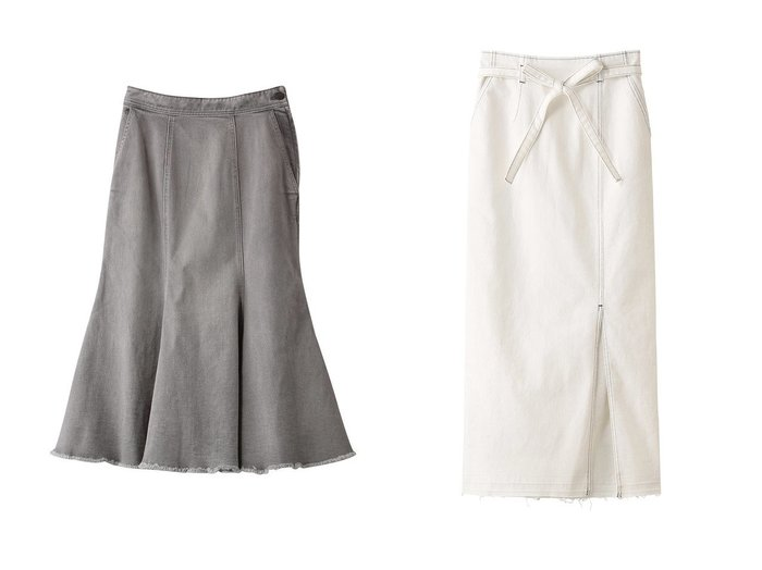 【Ezick/エジック】のタイトデニムスカート&デニムマーメイドスカート Ezickのおすすめ!人気、トレンド・レディースファッションの通販 おすすめファッション通販アイテム レディースファッション・服の通販 founy(ファニー) ファッション Fashion レディースファッション WOMEN スカート Skirt デニムスカート Denim Skirts 2021年 2021 2021 春夏 S/S SS Spring/Summer 2021 S/S 春夏 SS Spring/Summer デニム フェミニン マーメイド 春 Spring |ID:crp329100000018724