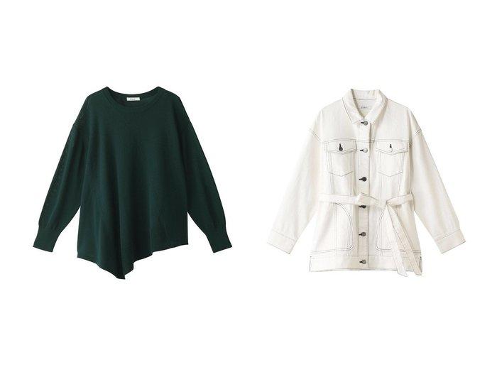 【Ezick/エジック】のヘンケイアシンメプルオーバー&ビックデニムジャケット Ezickのおすすめ!人気、トレンド・レディースファッションの通販 おすすめファッション通販アイテム レディースファッション・服の通販 founy(ファニー) ファッション Fashion レディースファッション WOMEN トップス Tops Tshirt シャツ/ブラウス Shirts Blouses パーカ Sweats ロング / Tシャツ T-Shirts プルオーバー Pullover スウェット Sweat カットソー Cut and Sewn アウター Coat Outerwear ジャケット Jackets デニムジャケット Denim Jackets 2021年 2021 2021 春夏 S/S SS Spring/Summer 2021 S/S 春夏 SS Spring/Summer イレギュラー モチーフ 春 Spring |ID:crp329100000018726