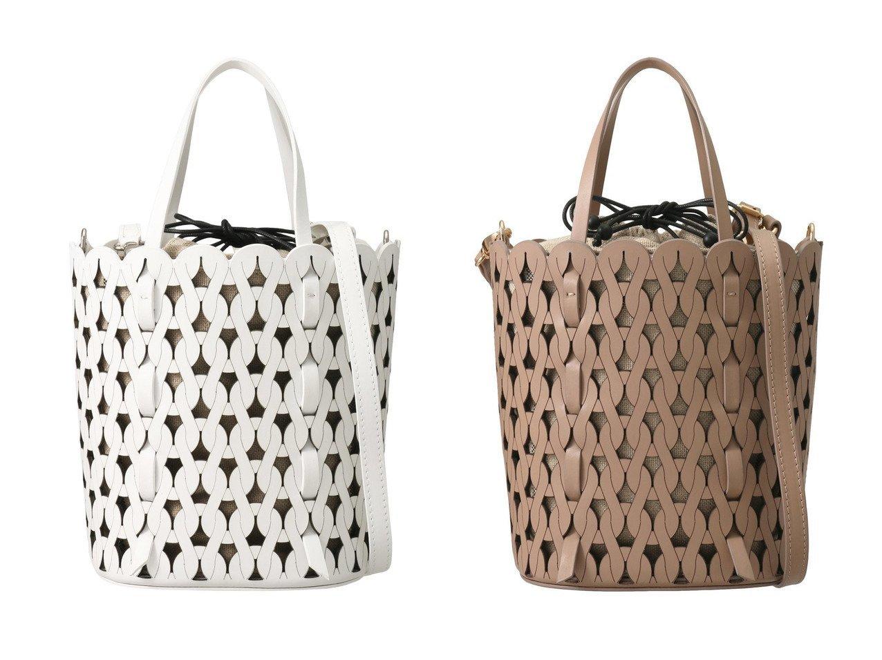 【martinique/マルティニーク】の【anita bilardi 】ウッドバスケットバッグ martiniqueのおすすめ!人気、トレンド・レディースファッションの通販 おすすめで人気の流行・トレンド、ファッションの通販商品 メンズファッション・キッズファッション・インテリア・家具・レディースファッション・服の通販 founy(ファニー) https://founy.com/ ファッション Fashion レディースファッション WOMEN バッグ Bag 2021年 2021 2021 春夏 S/S SS Spring/Summer 2021 S/S 春夏 SS Spring/Summer ショルダー 巾着 春 Spring |ID:crp329100000018742