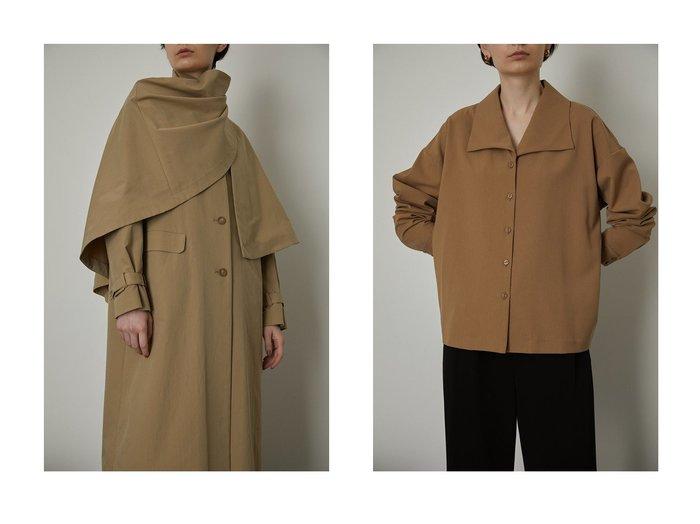 【RIM.ARK/リムアーク】のコート&シャツ RIM.ARKのおすすめ!人気、トレンド・レディースファッションの通販 おすすめファッション通販アイテム レディースファッション・服の通販 founy(ファニー) ファッション Fashion レディースファッション WOMEN アウター Coat Outerwear コート Coats トップス Tops Tshirt シャツ/ブラウス Shirts Blouses 2021年 2021 2021 春夏 S/S SS Spring/Summer 2021 S/S 春夏 SS Spring/Summer シンプル ストール テーラード ロング 春 Spring  ID:crp329100000018758