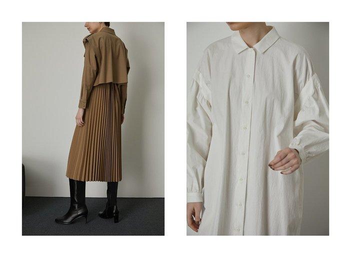 【RIM.ARK/リムアーク】のワンピース&ワンピース RIM.ARKのおすすめ!人気、トレンド・レディースファッションの通販 おすすめファッション通販アイテム インテリア・キッズ・メンズ・レディースファッション・服の通販 founy(ファニー) https://founy.com/ ファッション Fashion レディースファッション WOMEN ワンピース Dress 2021年 2021 2021 春夏 S/S SS Spring/Summer 2021 S/S 春夏 SS Spring/Summer インド ショート ジャケット トレンチ プリーツ ロング 春 Spring |ID:crp329100000018759