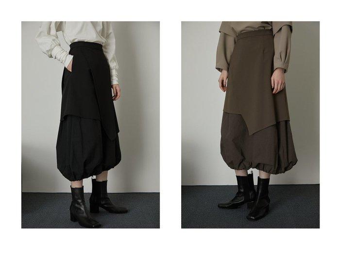 【RIM.ARK/リムアーク】のスカート RIM.ARKのおすすめ!人気、トレンド・レディースファッションの通販 おすすめファッション通販アイテム レディースファッション・服の通販 founy(ファニー) ファッション Fashion レディースファッション WOMEN スカート Skirt ロングスカート Long Skirt 2021年 2021 2021 春夏 S/S SS Spring/Summer 2021 S/S 春夏 SS Spring/Summer ドッキング ドローストリング マキシ ロング 切替 春 Spring |ID:crp329100000018760