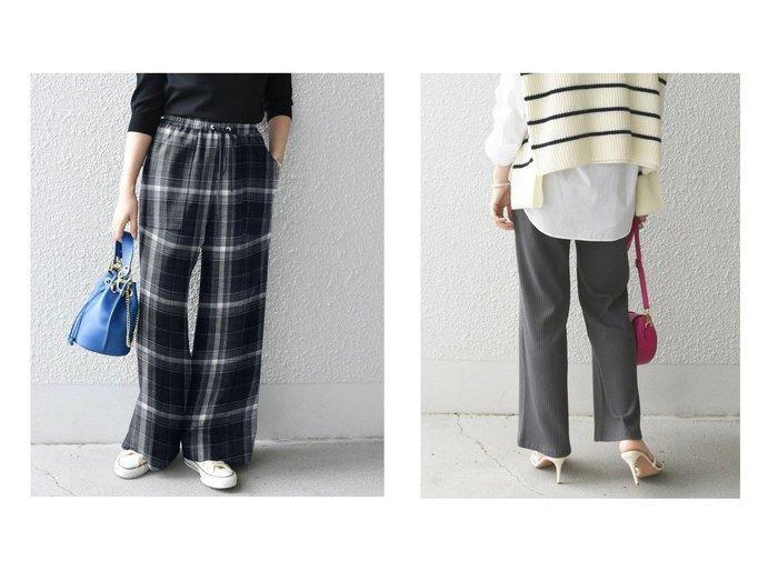 【SHIPS any/シップス エニィ】のSHIPS any リブレギンスパンツ&SHIPS any ウール チェック イージー ベイカーパンツ SHIPSのおすすめ!人気、トレンド・レディースファッションの通販  おすすめファッション通販アイテム レディースファッション・服の通販 founy(ファニー) ファッション Fashion レディースファッション WOMEN パンツ Pants レギンス Leggings シンプル チェック 人気 ポケット リラックス ワイド 冬 Winter 再入荷 Restock/Back in Stock/Re Arrival ジーンズ ストレッチ ストレート ビッグ |ID:crp329100000018842