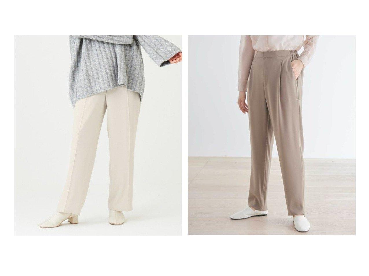 【#Newans/ハッシュニュアンス】の【新色登場しました!】ジョーゼットセンタープレスパンツ(番号NE42)&【新色登場しました!】ジョーゼットテーパードパンツ(番号NE43) #Newansのおすすめ!人気、トレンド・レディースファッションの通販  おすすめで人気の流行・トレンド、ファッションの通販商品 メンズファッション・キッズファッション・インテリア・家具・レディースファッション・服の通販 founy(ファニー) https://founy.com/ ファッション Fashion レディースファッション WOMEN パンツ Pants ウォッシャブル 洗える ストレッチ センター ドレープ フレア ベーシック リラックス 送料無料 Free Shipping NEW・新作・新着・新入荷 New Arrivals 楽ちん |ID:crp329100000018862
