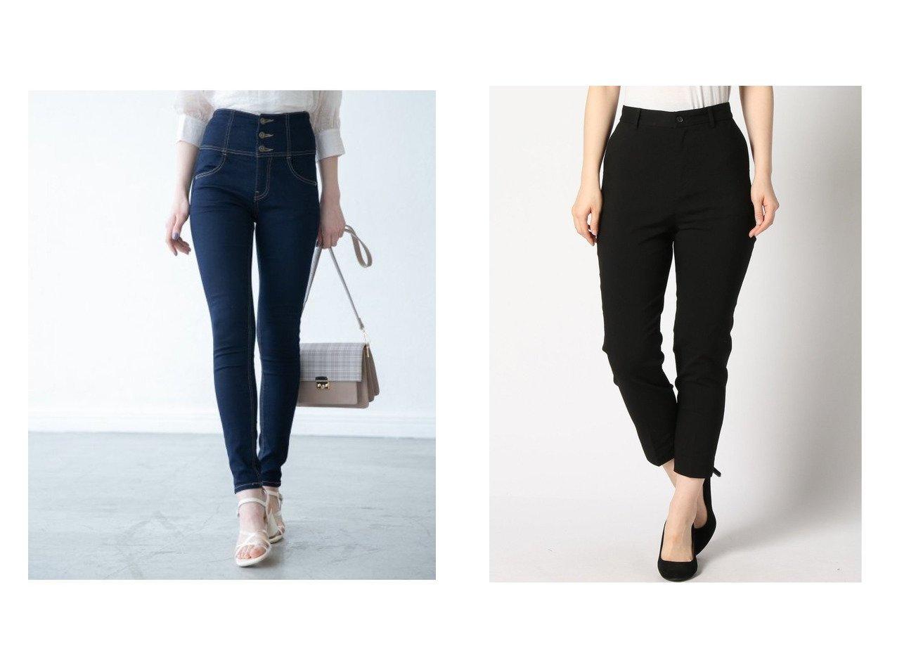 【Heather/ヘザー】のISKOスキニー&【GLOBAL WORK/グローバルワーク】のスゴラクスリムテーパードP パンツのおすすめ!人気、トレンド・レディースファッションの通販  おすすめで人気の流行・トレンド、ファッションの通販商品 メンズファッション・キッズファッション・インテリア・家具・レディースファッション・服の通販 founy(ファニー) https://founy.com/ ファッション Fashion レディースファッション WOMEN パンツ Pants S/S 春夏 SS Spring/Summer ケミカル ジーンズ スキニー 再入荷 Restock/Back in Stock/Re Arrival 定番 Standard 春 Spring NEW・新作・新着・新入荷 New Arrivals ギャザー ストレッチ センター チュニック 人気 |ID:crp329100000018867