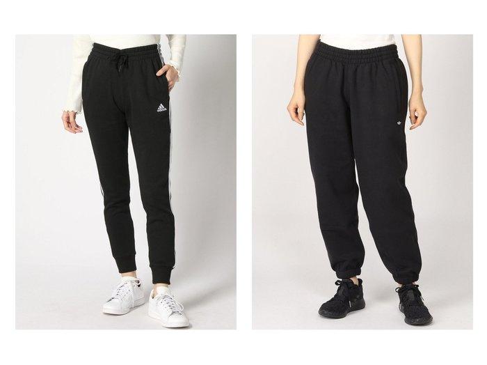 【adidas Originals/アディダス オリジナルス】のプレミアムスウェットパンツ PREMIUM SWEATPANTS アディダスオリジナルス&【adidas Sports Performance/アディダス スポーツ パフォーマンス】のエッセンシャルズ フレンチテリー 3ストライプス パンツ Essentials French Terry 3-Stripes Pants アディダス パンツのおすすめ!人気、トレンド・レディースファッションの通販  おすすめファッション通販アイテム レディースファッション・服の通販 founy(ファニー) ファッション Fashion レディースファッション WOMEN パンツ Pants クラシック ジーンズ スポーツ フレンチ ポケット NEW・新作・新着・新入荷 New Arrivals ドローコード プレミアム |ID:crp329100000018868
