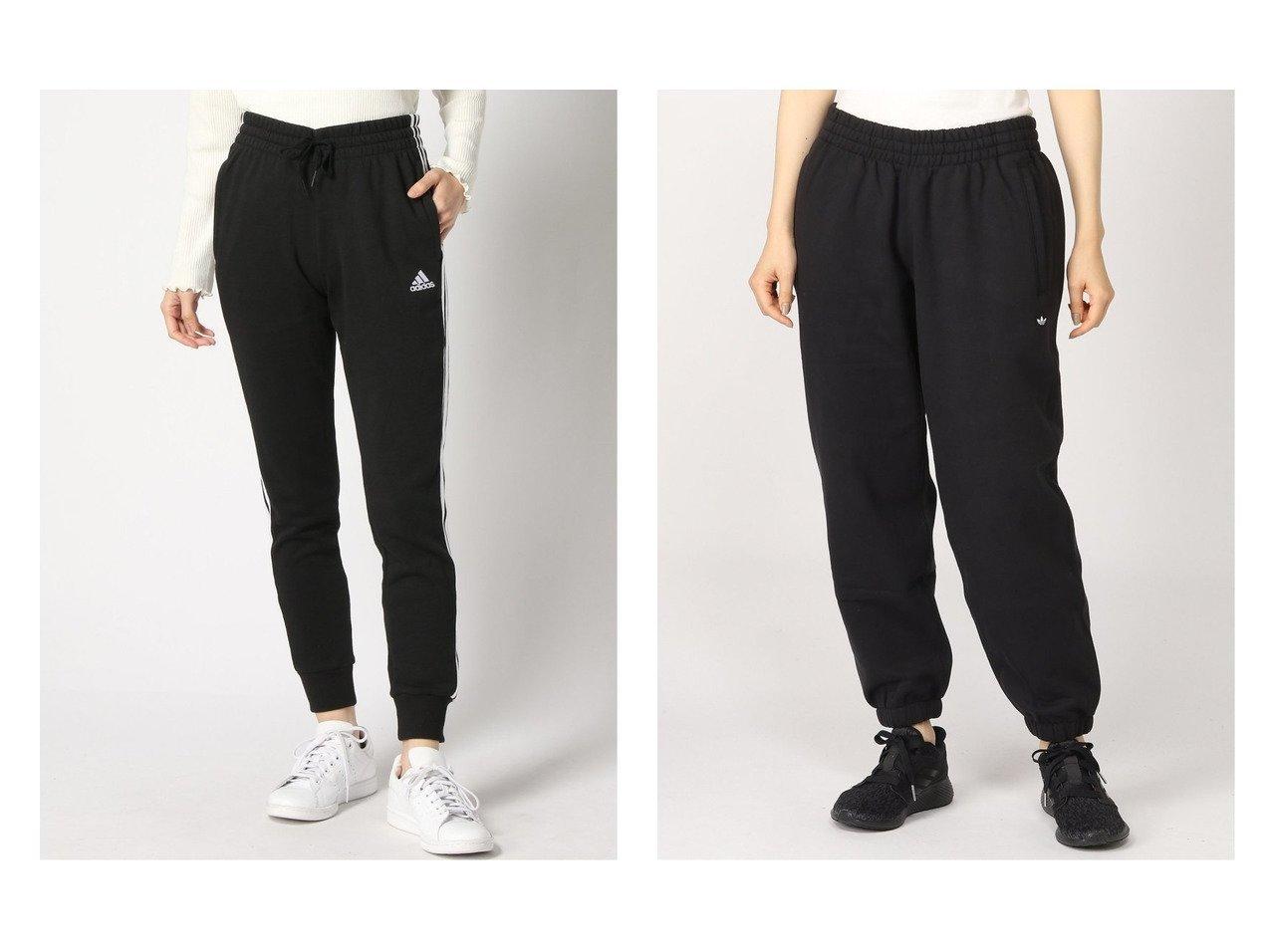 【adidas Originals/アディダス オリジナルス】のプレミアムスウェットパンツ PREMIUM SWEATPANTS アディダスオリジナルス&【adidas Sports Performance/アディダス スポーツ パフォーマンス】のエッセンシャルズ フレンチテリー 3ストライプス パンツ Essentials French Terry 3-Stripes Pants アディダス パンツのおすすめ!人気、トレンド・レディースファッションの通販  おすすめで人気の流行・トレンド、ファッションの通販商品 メンズファッション・キッズファッション・インテリア・家具・レディースファッション・服の通販 founy(ファニー) https://founy.com/ ファッション Fashion レディースファッション WOMEN パンツ Pants クラシック ジーンズ スポーツ フレンチ ポケット NEW・新作・新着・新入荷 New Arrivals ドローコード プレミアム |ID:crp329100000018868