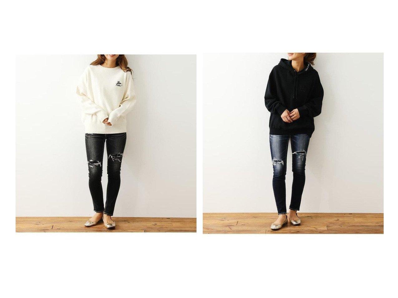 【RODEO CROWNS WIDE BOWL/ロデオクラウンズワイドボウル】のHIDE SKIN TYPE2スキニー パンツのおすすめ!人気、トレンド・レディースファッションの通販  おすすめで人気の流行・トレンド、ファッションの通販商品 メンズファッション・キッズファッション・インテリア・家具・レディースファッション・服の通販 founy(ファニー) https://founy.com/ ファッション Fashion レディースファッション WOMEN パンツ Pants デニムパンツ Denim Pants クラッシュ スキニー デニム |ID:crp329100000018891