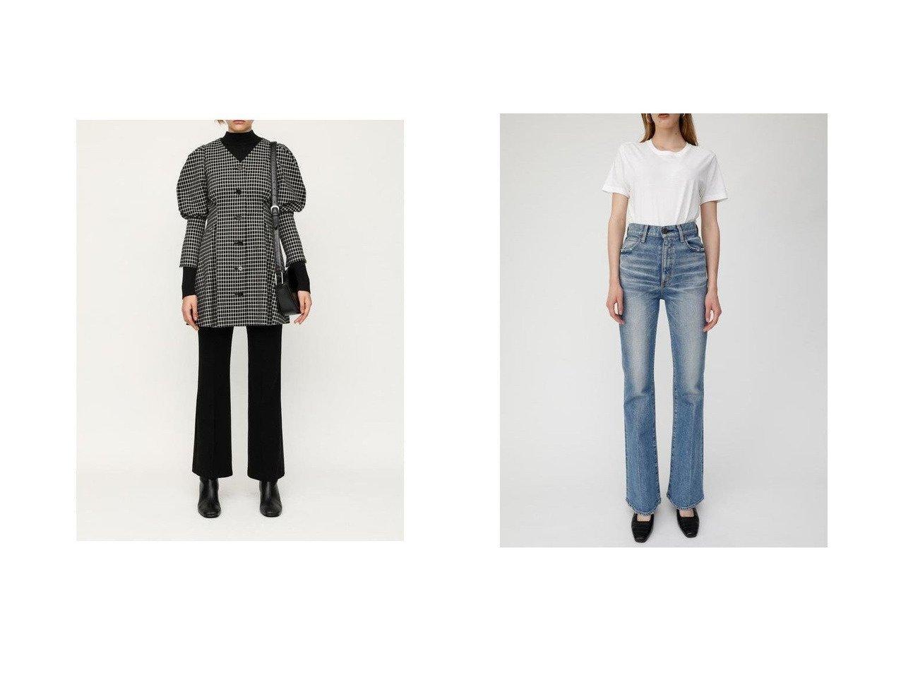 【moussy/マウジー】のMVS FLARE&【SLY/スライ】のMANISH FLARE パンツ パンツのおすすめ!人気、トレンド・レディースファッションの通販  おすすめで人気の流行・トレンド、ファッションの通販商品 メンズファッション・キッズファッション・インテリア・家具・レディースファッション・服の通販 founy(ファニー) https://founy.com/ ファッション Fashion レディースファッション WOMEN パンツ Pants デニムパンツ Denim Pants ストレッチ フレア 再入荷 Restock/Back in Stock/Re Arrival 冬 Winter コンパクト ジップアップ ダメージ デニム ポケット |ID:crp329100000018896