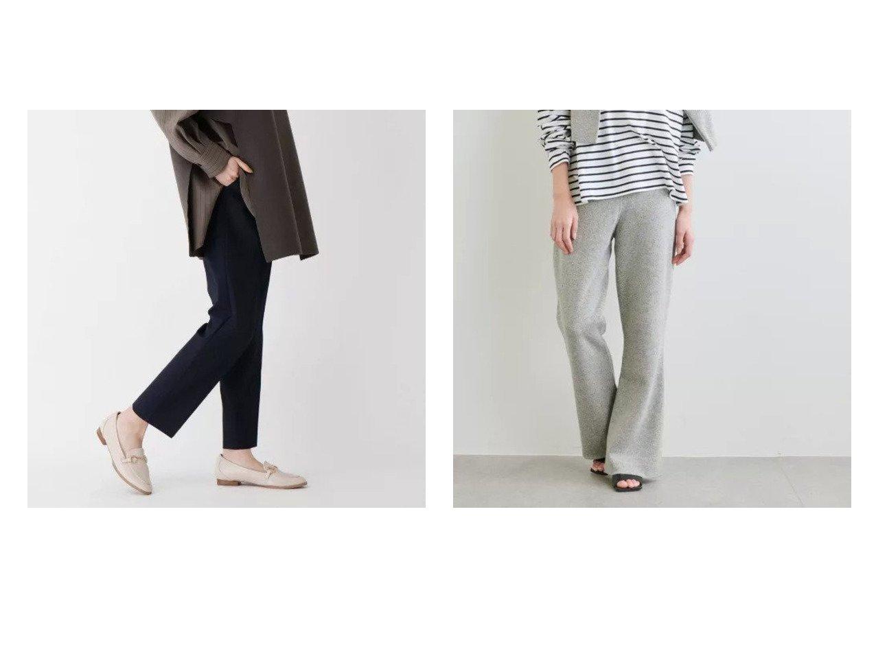 【OPAQUE.CLIP/オペークドットクリップ】の【WEB限定サイズ・カラーあり】beautiful stretch テーパードパンツ&【Drawing Numbers/ドローイング ナンバーズ】のシルクコットン接結ニットパンツ パンツのおすすめ!人気、トレンド・レディースファッションの通販  おすすめで人気の流行・トレンド、ファッションの通販商品 メンズファッション・キッズファッション・インテリア・家具・レディースファッション・服の通販 founy(ファニー) https://founy.com/ ファッション Fashion レディースファッション WOMEN パンツ Pants カットソー ストレッチ センター パターン ベーシック ポケット ミックス インナー シルク スリット セットアップ |ID:crp329100000018903