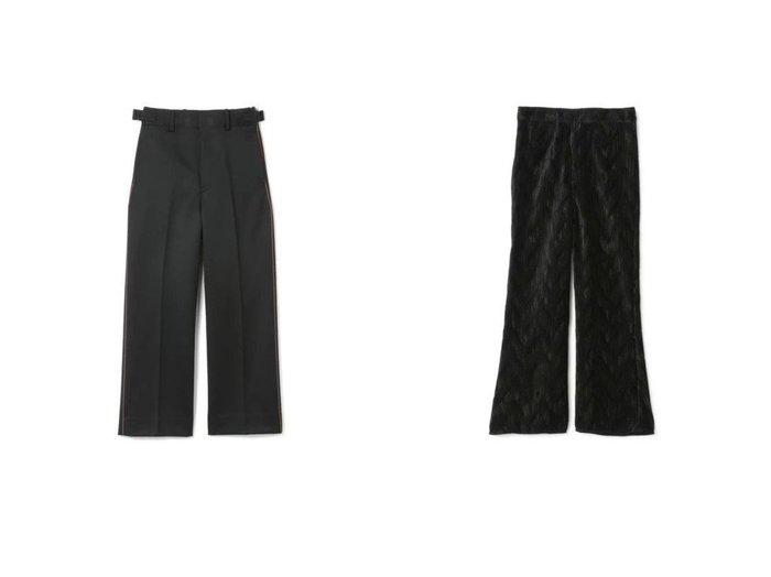 【beautiful people/ビューティフル ピープル】のregimental wool side line pants&【GANNI/ガニー】のPleated Satin Pants パンツのおすすめ!人気、トレンド・レディースファッションの通販  おすすめファッション通販アイテム レディースファッション・服の通販 founy(ファニー) ファッション Fashion レディースファッション WOMEN パンツ Pants 2021年 2021 2021 春夏 S/S SS Spring/Summer 2021 S/S 春夏 SS Spring/Summer クール サテン フレア プリーツ 洗える |ID:crp329100000018906
