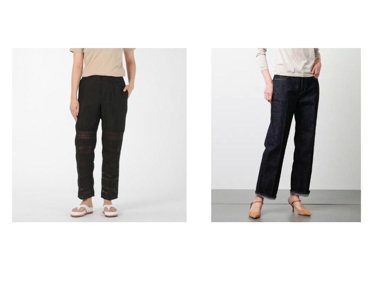 【NEWYORKER/ニューヨーカー】のEDWIN 13オンスデニムパンツ&【Pheeta/フィータ】のPants(Stella) パンツのおすすめ!人気、トレンド・レディースファッションの通販  おすすめで人気の流行・トレンド、ファッションの通販商品 メンズファッション・キッズファッション・インテリア・家具・レディースファッション・服の通販 founy(ファニー) https://founy.com/ ファッション Fashion レディースファッション WOMEN パンツ Pants デニムパンツ Denim Pants インド レース S/S 春夏 SS Spring/Summer コイン ストレッチ ストレート スラックス センター デニム パッチ ポケット ワイド 春 Spring |ID:crp329100000018908