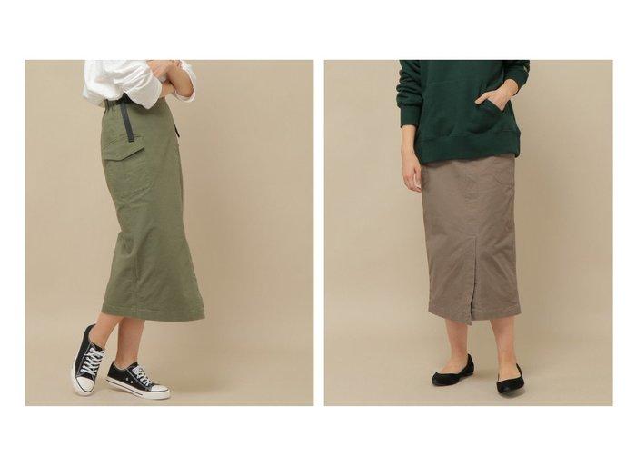 【ikka/イッカ】の【グラミチ】GURKHA SKIRT ikkaのおすすめ!人気、トレンド・レディースファッションの通販 おすすめファッション通販アイテム レディースファッション・服の通販 founy(ファニー) ファッション Fashion レディースファッション WOMEN スカート Skirt カリフォルニア ストーン スリット センター タイツ タイトスカート 定番 Standard バランス 再入荷 Restock/Back in Stock/Re Arrival |ID:crp329100000018937