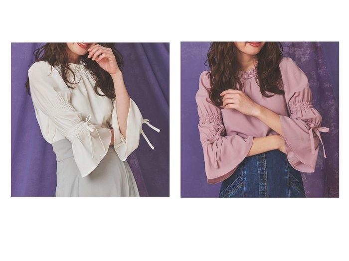【Noela/ノエラ】のキャンディスリーブブラウス Noelaのおすすめ!人気、トレンド・レディースファッションの通販  おすすめファッション通販アイテム レディースファッション・服の通販 founy(ファニー) ファッション Fashion レディースファッション WOMEN トップス Tops Tshirt シャツ/ブラウス Shirts Blouses NEW・新作・新着・新入荷 New Arrivals インナー 無地 |ID:crp329100000018971
