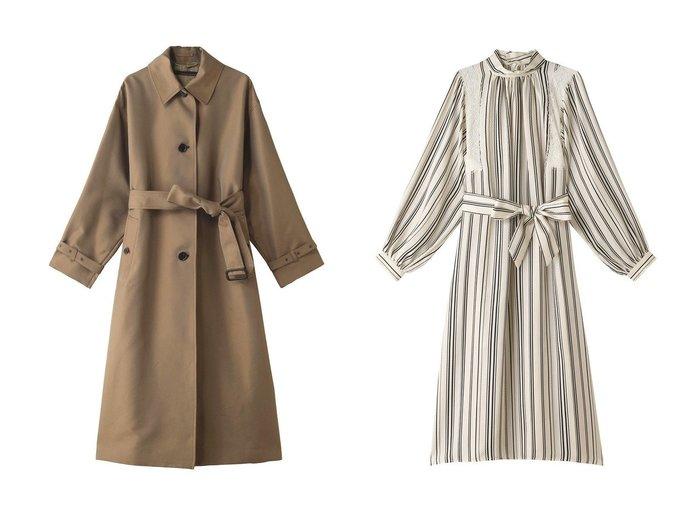 【martinique/マルティニーク】のシャンブレーコート&ワンピース martiniqueのおすすめ!人気、トレンド・レディースファッションの通販 おすすめファッション通販アイテム レディースファッション・服の通販 founy(ファニー) ファッション Fashion レディースファッション WOMEN アウター Coat Outerwear コート Coats ワンピース Dress 2021年 2021 2021 春夏 S/S SS Spring/Summer 2021 S/S 春夏 SS Spring/Summer シャンブレー スリム スリーブ バランス ミックス ロング 春 Spring |ID:crp329100000019048