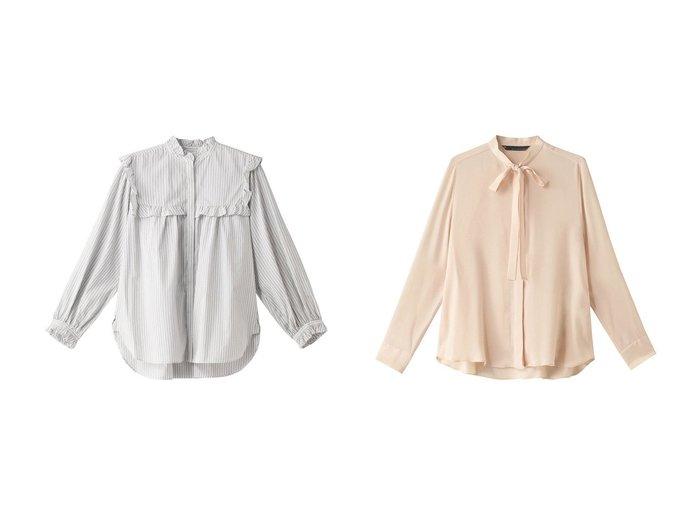 【martinique/マルティニーク】のブラウス&フリルブラウス martiniqueのおすすめ!人気、トレンド・レディースファッションの通販 おすすめファッション通販アイテム レディースファッション・服の通販 founy(ファニー) ファッション Fashion レディースファッション WOMEN トップス Tops Tshirt シャツ/ブラウス Shirts Blouses 2021年 2021 2021 春夏 S/S SS Spring/Summer 2021 S/S 春夏 SS Spring/Summer シンプル スリーブ フェミニン フリル フロント ロング 春 Spring |ID:crp329100000019050
