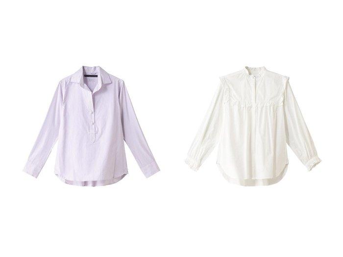 【martinique/マルティニーク】のブラウス&フリルブラウス martiniqueのおすすめ!人気、トレンド・レディースファッションの通販 おすすめファッション通販アイテム レディースファッション・服の通販 founy(ファニー) ファッション Fashion レディースファッション WOMEN トップス Tops Tshirt シャツ/ブラウス Shirts Blouses 2021年 2021 2021 春夏 S/S SS Spring/Summer 2021 S/S 春夏 SS Spring/Summer シンプル ストライプ スリーブ パール ベーシック ロング 春 Spring |ID:crp329100000019051