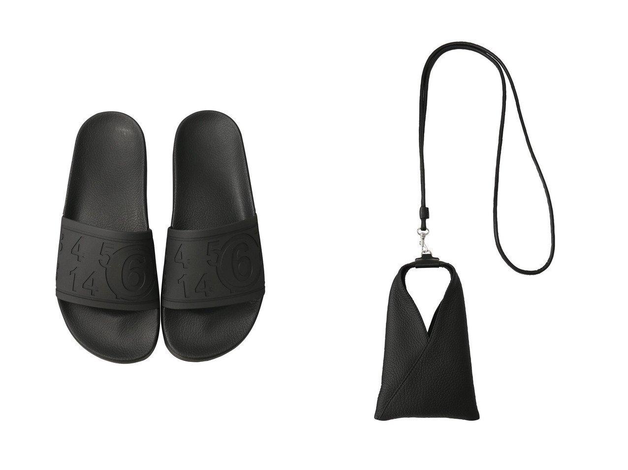 【MM6 Maison Martin Margiela/エムエム6 メゾン マルタン マルジェラ】のリアルグレインレザーショルダーバッグ&マットTPUサンダル MM6 Maison Martin Margielaのおすすめ!人気、トレンド・レディースファッションの通販 おすすめで人気の流行・トレンド、ファッションの通販商品 メンズファッション・キッズファッション・インテリア・家具・レディースファッション・服の通販 founy(ファニー) https://founy.com/ ファッション Fashion レディースファッション WOMEN バッグ Bag 2021年 2021 2021 春夏 S/S SS Spring/Summer 2021 S/S 春夏 SS Spring/Summer クッション サンダル シンプル モノトーン リラックス 春 Spring |ID:crp329100000019059