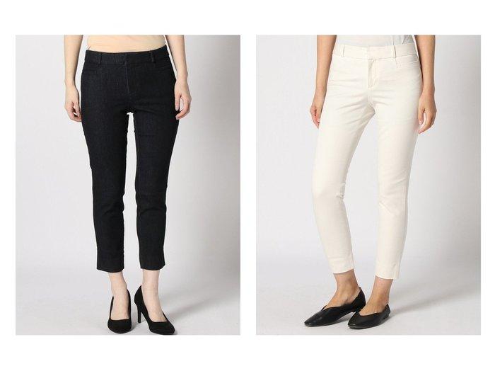 【BANANA REPUBLIC/バナナ リパブリック】のSloan リンスウォッシュ デニムパンツ&Sloan Skinny-Fit ウォッシャブルパンツ BANANA REPUBLICのおすすめ!人気、トレンド・レディースファッションの通販 おすすめファッション通販アイテム インテリア・キッズ・メンズ・レディースファッション・服の通販 founy(ファニー) https://founy.com/ ファッション Fashion レディースファッション WOMEN パンツ Pants デニムパンツ Denim Pants アンクル クロップド コイン ジーンズ ストレッチ デニム フィット フロント ポケット ループ |ID:crp329100000019109