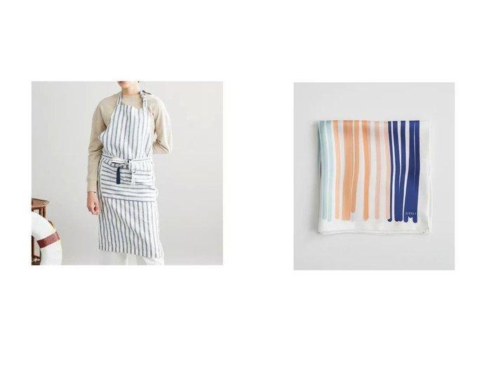 【SIPULI/シプリ】のEgyptian Linen Stripe エプロン&Stripe Spreads Silk スカーフ SIPULIのおすすめ!人気、トレンド・レディースファッションの通販 おすすめファッション通販アイテム インテリア・キッズ・メンズ・レディースファッション・服の通販 founy(ファニー) https://founy.com/ ファッション Fashion レディースファッション WOMEN ストール Scarves マフラー Mufflers S/S 春夏 SS Spring/Summer ストライプ ボーダー ポケット リネン 春 Spring イタリア カラフル コレクション シルク スカーフ ストール ツイル プリント マフラー ミラノ ランダム |ID:crp329100000019121
