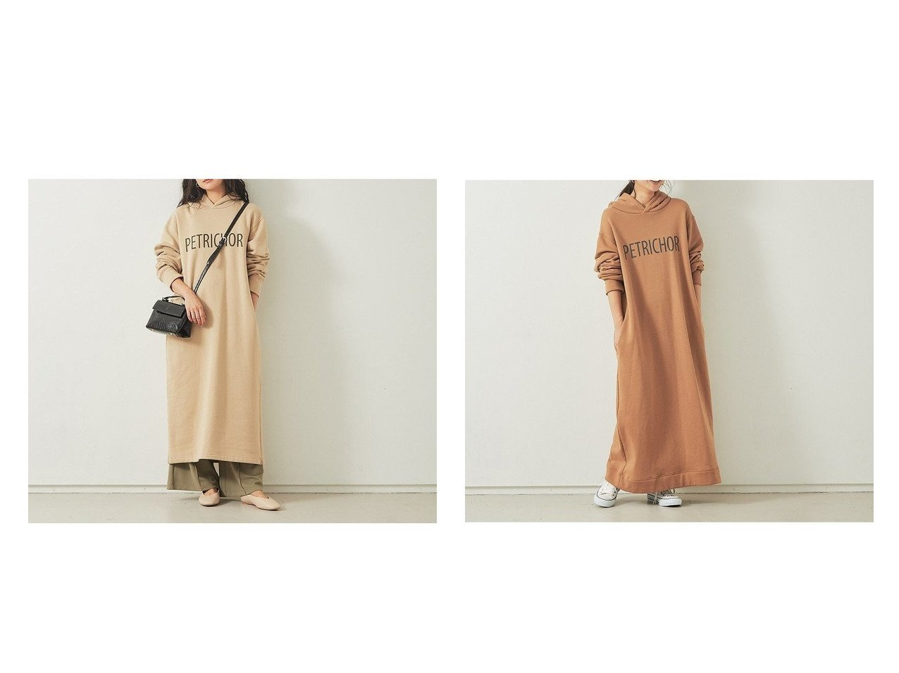 【Rouge vif la cle/ルージュヴィフラクレ】の【Mylanka】ロゴパーカーワンピース Rouge vifのおすすめ!人気、トレンド・レディースファッションの通販 おすすめで人気の流行・トレンド、ファッションの通販商品 メンズファッション・キッズファッション・インテリア・家具・レディースファッション・服の通販 founy(ファニー) https://founy.com/ ファッション Fashion レディースファッション WOMEN ワンピース Dress シャツワンピース Shirt Dresses パーカー リラックス ロング ワイド  ID:crp329100000019125