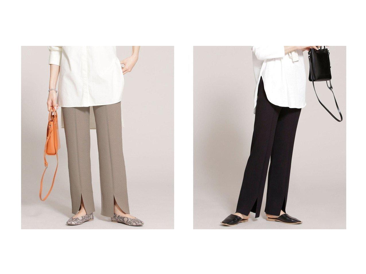 【nano universe/ナノ ユニバース】のオーガニックコットン リブニットパンツ nano universeのおすすめ!人気、トレンド・レディースファッションの通販 おすすめで人気の流行・トレンド、ファッションの通販商品 メンズファッション・キッズファッション・インテリア・家具・レディースファッション・服の通販 founy(ファニー) https://founy.com/ ファッション Fashion レディースファッション WOMEN パンツ Pants 春 Spring スリット ダメージ 長袖 フレア フロント リラックス ワイドリブ 2021年 2021 S/S 春夏 SS Spring/Summer 2021 春夏 S/S SS Spring/Summer 2021 |ID:crp329100000019132