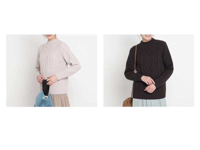 【Dessin/デッサン】の【日本製 XS-Lサイズ展開あり】ケーブル編みハイネックバルキーニット Dessinのおすすめ!人気、トレンド・レディースファッションの通販 おすすめファッション通販アイテム レディースファッション・服の通販 founy(ファニー) ファッション Fashion レディースファッション WOMEN トップス Tops Tshirt ニット Knit Tops 2020年 2020 2020-2021 秋冬 A/W AW Autumn/Winter / FW Fall-Winter 2020-2021 A/W 秋冬 AW Autumn/Winter / FW Fall-Winter アクリル ハイネック フィット レギュラー |ID:crp329100000019183