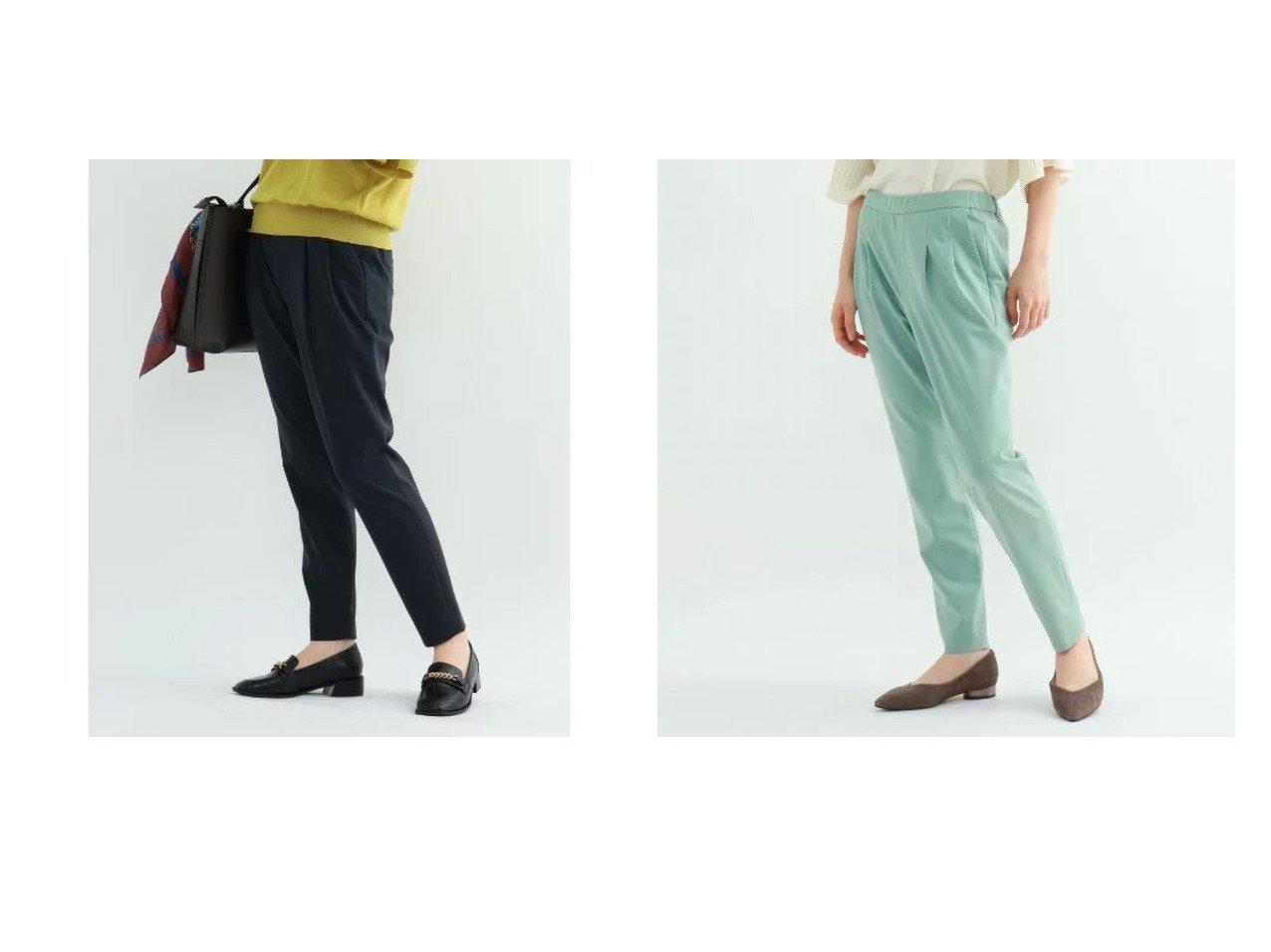 【INDIVI/インディヴィ】の【マシンウォッシュ】ツータックテーパードパンツ パンツのおすすめ!人気、トレンド・レディースファッションの通販 おすすめで人気の流行・トレンド、ファッションの通販商品 メンズファッション・キッズファッション・インテリア・家具・レディースファッション・服の通販 founy(ファニー) https://founy.com/ ファッション Fashion レディースファッション WOMEN パンツ Pants 秋 Autumn/Fall ジャケット ストレッチ スーツ チュニック ドレープ ポケット リラックス |ID:crp329100000019204