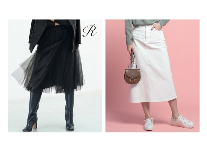 【NIJYUSANKU/23区】の【洗える】23区DENIM スカート&【R(アール)】FINE TULLE スカート スカートのおすすめ!人気、トレンド・レディースファッションの通販  おすすめファッション通販アイテム レディースファッション・服の通販 founy(ファニー) ファッション Fashion レディースファッション WOMEN スカート Skirt カシミヤ ギャザー シンプル ジャケット スペシャル タートル チュール 人気 フレア ブライト ボトルネック 冬 Winter 2020年 2020 2020-2021 秋冬 A/W AW Autumn/Winter / FW Fall-Winter 2020-2021 送料無料 Free Shipping NEW・新作・新着・新入荷 New Arrivals インディゴ 洗える シルバー ジーンズ ストレッチ スリット デニム 定番 Standard フィット ポケット ミドル |ID:crp329100000019214