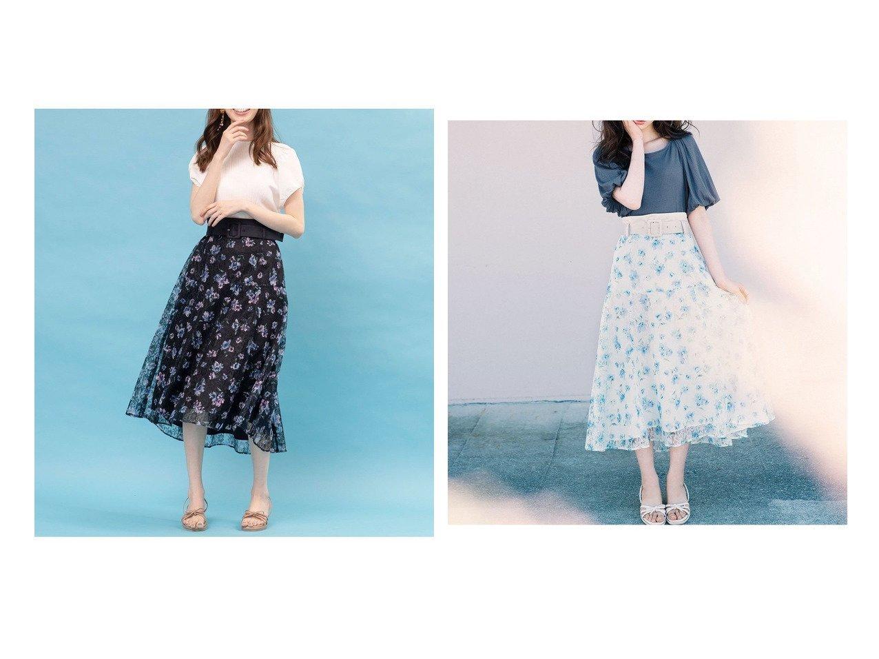 【WILLSELECTION/ウィルセレクション】のレースフラワーベルテッドスカート スカートのおすすめ!人気、トレンド・レディースファッションの通販  おすすめで人気の流行・トレンド、ファッションの通販商品 メンズファッション・キッズファッション・インテリア・家具・レディースファッション・服の通販 founy(ファニー) https://founy.com/ ファッション Fashion レディースファッション WOMEN スカート Skirt Aライン/フレアスカート Flared A-Line Skirts 2020年 2020 2020 春夏 S/S SS Spring/Summer 2020 ギャザー バランス フレア プリント リラックス レース 無地 雑誌 |ID:crp329100000019222