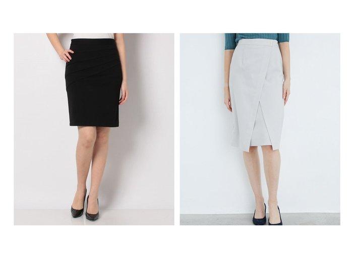 【TONAL/トーナル】の【セットアップ対応商品】ドライツイルアシメタイトスカート&【salire/サリア】の斜め切り替えバンテージスカート スカートのおすすめ!人気、トレンド・レディースファッションの通販  おすすめファッション通販アイテム レディースファッション・服の通販 founy(ファニー) ファッション Fashion レディースファッション WOMEN スカート Skirt セットアップ Setup スカート Skirt NEW・新作・新着・新入荷 New Arrivals タイトスカート バイアス フィット アシンメトリー エレガント セットアップ フロント ラップ |ID:crp329100000019228