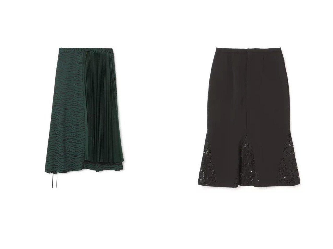 【LOKITHO/ロキト】のLACED COMBI SKIRT&【TOGA PULLA/トーガ プルラ】のJaquard skirt スカートのおすすめ!人気、トレンド・レディースファッションの通販  おすすめで人気の流行・トレンド、ファッションの通販商品 メンズファッション・キッズファッション・インテリア・家具・レディースファッション・服の通販 founy(ファニー) https://founy.com/ ファッション Fashion レディースファッション WOMEN スカート Skirt 2021年 2021 2021 春夏 S/S SS Spring/Summer 2021 S/S 春夏 SS Spring/Summer アシンメトリー ジャカード フェミニン プリーツ マキシ ロング エレガント カッティング フラワー ベーシック ミドル モチーフ レース 春 Spring |ID:crp329100000019237