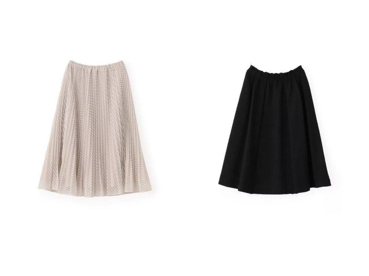 【TO BE CHIC/トゥー ビー シック】のチェーンラッセルスカート&ツィードジャージーフレアースカート スカートのおすすめ!人気、トレンド・レディースファッションの通販  おすすめで人気の流行・トレンド、ファッションの通販商品 メンズファッション・キッズファッション・インテリア・家具・レディースファッション・服の通販 founy(ファニー) https://founy.com/ ファッション Fashion レディースファッション WOMEN スカート Skirt マキシ ミモレ ロング カットソー ジャケット セットアップ 無地 |ID:crp329100000019244