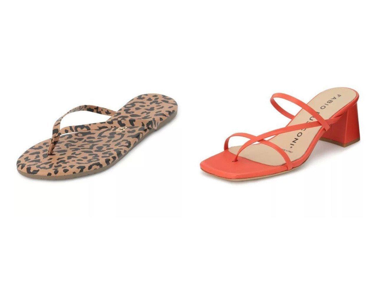 【TKEES/ティキーズ】のレザービーチサンダル(アニマル)&【FABIO RUSCONI/ファビオ ルスコーニ】のスムースレザーサンダル シューズ・靴のおすすめ!人気、トレンド・レディースファッションの通販  おすすめで人気の流行・トレンド、ファッションの通販商品 メンズファッション・キッズファッション・インテリア・家具・レディースファッション・服の通販 founy(ファニー) https://founy.com/ ファッション Fashion レディースファッション WOMEN アニマル サンダル シューズ ビーチ フラット ラグジュアリー リゾート ラップ |ID:crp329100000019255