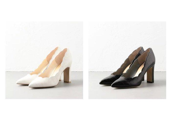 【Odette e Odile/オデット エ オディール】のOID スカラップ パンプス85↓↑ シューズ・靴のおすすめ!人気、トレンド・レディースファッションの通販  おすすめファッション通販アイテム レディースファッション・服の通販 founy(ファニー) ファッション Fashion レディースファッション WOMEN シューズ スカラップ ストレート  ID:crp329100000019266