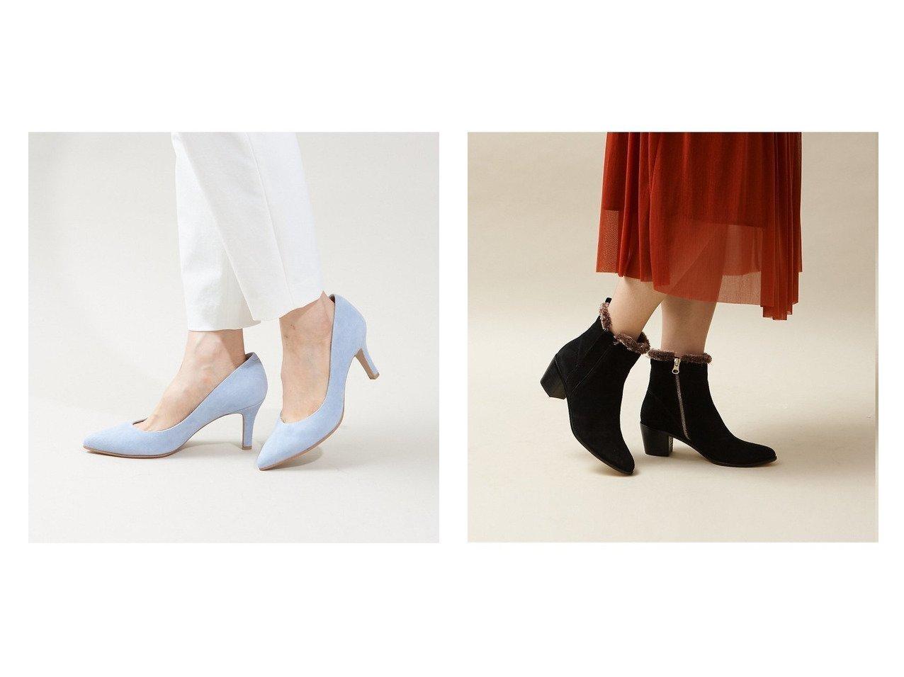 【Au BANNISTER/オゥ バニスター】のSaffree ハイヒールパンプス&隠しサイドゴアファーブーツ シューズ・靴のおすすめ!人気、トレンド・レディースファッションの通販  おすすめで人気の流行・トレンド、ファッションの通販商品 メンズファッション・キッズファッション・インテリア・家具・レディースファッション・服の通販 founy(ファニー) https://founy.com/ ファッション Fashion レディースファッション WOMEN シューズ シンプル ダウン デニム ハイヒール 人気 ショート ジップ ブロック ベーシック |ID:crp329100000019269