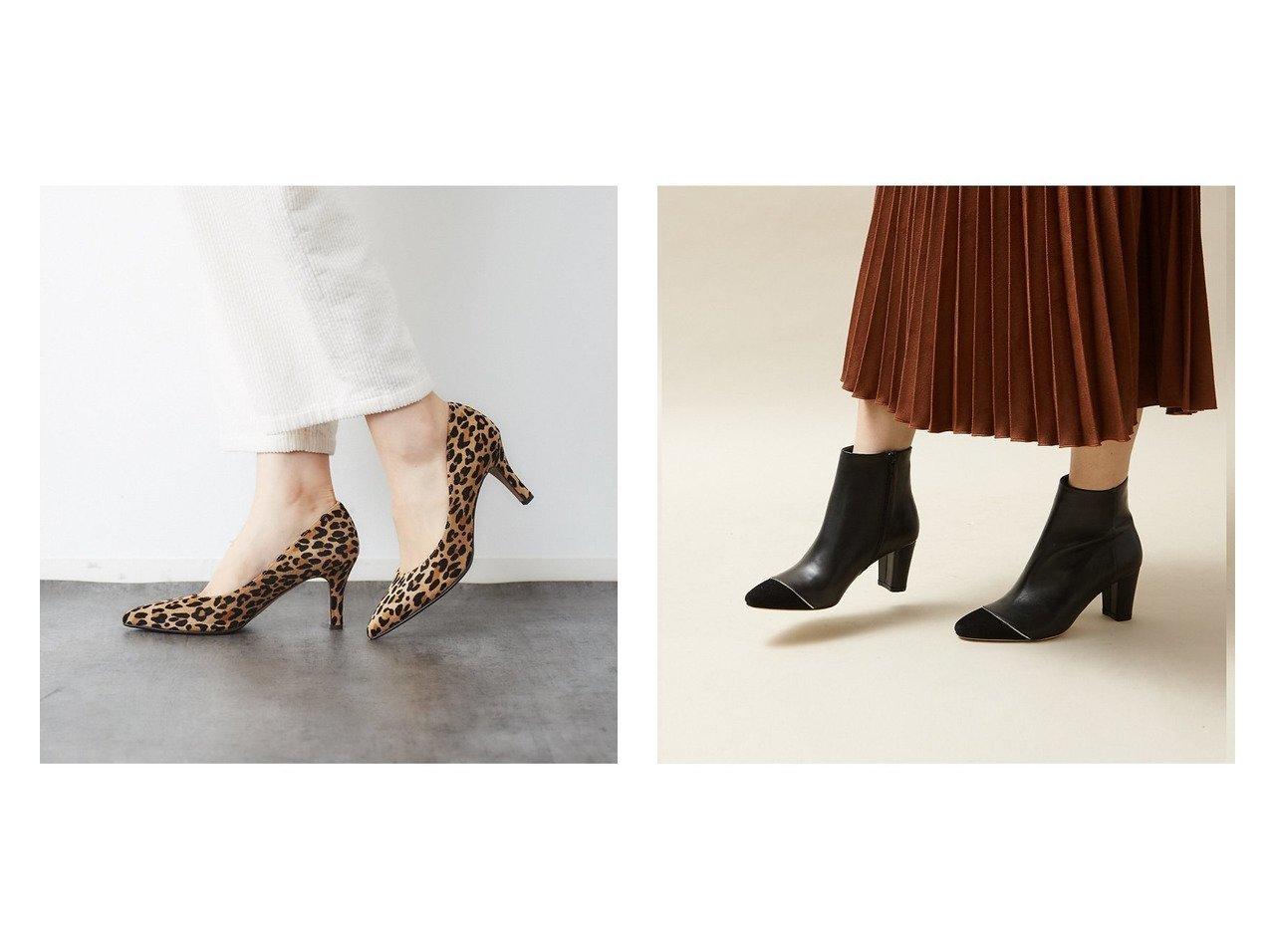 【Au BANNISTER/オゥ バニスター】のトゥキャップショートブーツ&Saffree ハイヒールパンプス シューズ・靴のおすすめ!人気、トレンド・レディースファッションの通販  おすすめで人気の流行・トレンド、ファッションの通販商品 メンズファッション・キッズファッション・インテリア・家具・レディースファッション・服の通販 founy(ファニー) https://founy.com/ ファッション Fashion レディースファッション WOMEN A/W 秋冬 AW Autumn/Winter / FW Fall-Winter インソール シューズ ダウン デニム ハイヒール 人気 ショート スタッズ |ID:crp329100000019271