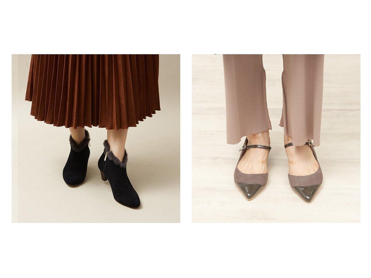 【Au BANNISTER/オゥ バニスター】のストラップパンプス&ポインテッドファーブーツ シューズ・靴のおすすめ!人気、トレンド・レディースファッションの通販  おすすめで人気の流行・トレンド、ファッションの通販商品 メンズファッション・キッズファッション・インテリア・家具・レディースファッション・服の通販 founy(ファニー) https://founy.com/ ファッション Fashion レディースファッション WOMEN A/W 秋冬 AW Autumn/Winter / FW Fall-Winter エレガント シューズ ショート ジップ ベーシック ストラップパンプス スマート チェック レオパード |ID:crp329100000019275