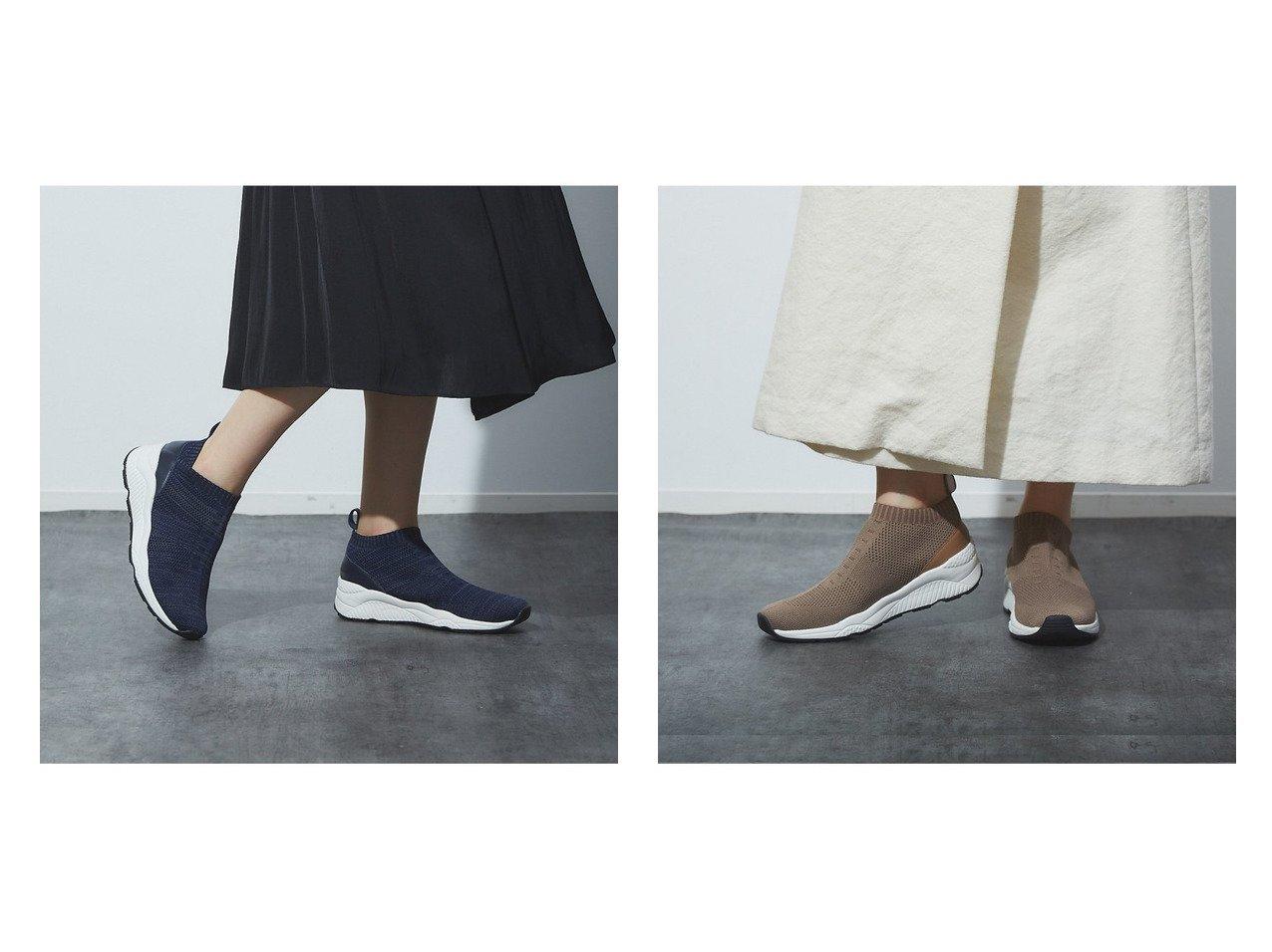 【Au BANNISTER/オゥ バニスター】の軽量ニットスニーカー シューズ・靴のおすすめ!人気、トレンド・レディースファッションの通販  おすすめで人気の流行・トレンド、ファッションの通販商品 メンズファッション・キッズファッション・インテリア・家具・レディースファッション・服の通販 founy(ファニー) https://founy.com/ ファッション Fashion レディースファッション WOMEN A/W 秋冬 AW Autumn/Winter / FW Fall-Winter シューズ スニーカー スポーティ スリッポン 軽量 |ID:crp329100000019277