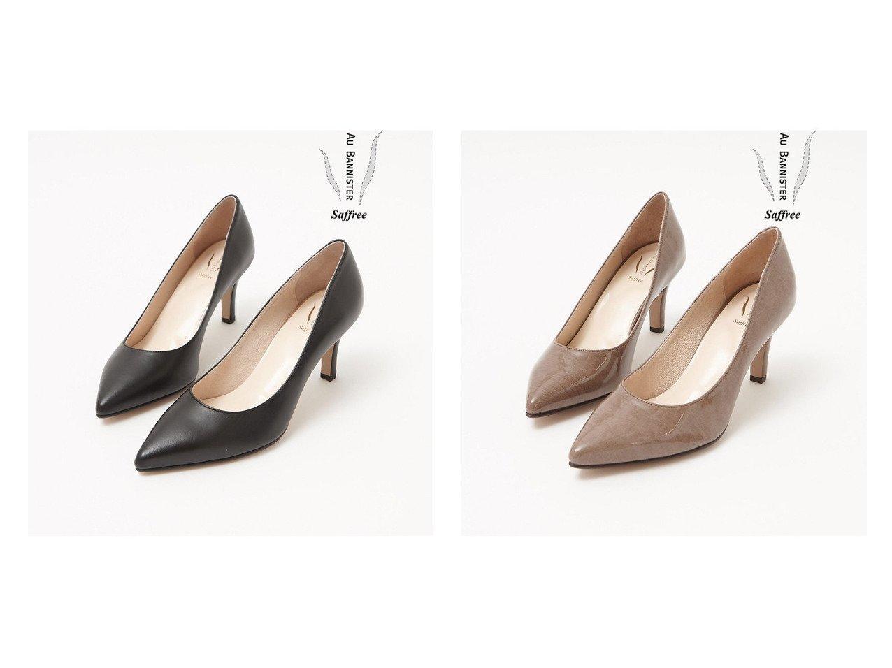 【Au BANNISTER/オゥ バニスター】のSaffreeハイヒールパンプス シューズ・靴のおすすめ!人気、トレンド・レディースファッションの通販  おすすめで人気の流行・トレンド、ファッションの通販商品 メンズファッション・キッズファッション・インテリア・家具・レディースファッション・服の通販 founy(ファニー) https://founy.com/ ファッション Fashion レディースファッション WOMEN A/W 秋冬 AW Autumn/Winter / FW Fall-Winter シューズ シンプル ダウン デニム ハイヒール |ID:crp329100000019280