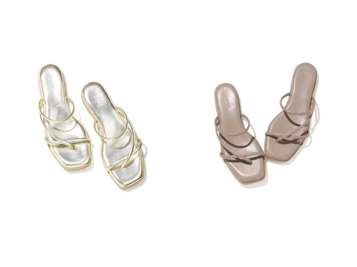 【Juze/ジュゼ】のナロートングフラットサンダル シューズ・靴のおすすめ!人気、トレンド・レディースファッションの通販  おすすめファッション通販アイテム レディースファッション・服の通販 founy(ファニー)  ファッション Fashion レディースファッション WOMEN サンダル シューズ シンプル トレンド フラット |ID:crp329100000019287