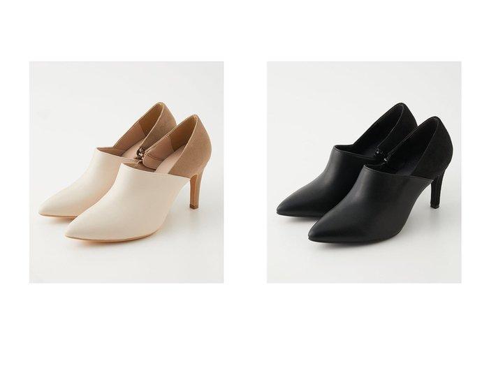 【AZUL by moussy/アズール バイ マウジー】のBACK CONTRAST PUMPS シューズ・靴のおすすめ!人気、トレンド・レディースファッションの通販  おすすめファッション通販アイテム レディースファッション・服の通販 founy(ファニー) ファッション Fashion レディースファッション WOMEN 2021年 2021 2021 春夏 S/S SS Spring/Summer 2021 S/S 春夏 SS Spring/Summer デニム 春 Spring |ID:crp329100000019295