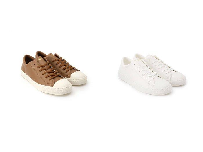 【UNTITLED/アンタイトル】のCONVERSE ALL STAR COUPE LEATHER OX スニーカー シューズ・靴のおすすめ!人気、トレンド・レディースファッションの通販  おすすめファッション通販アイテム インテリア・キッズ・メンズ・レディースファッション・服の通販 founy(ファニー) https://founy.com/ ファッション Fashion レディースファッション WOMEN 春 Spring シューズ スニーカー 定番 Standard レース 2021年 2021 S/S 春夏 SS Spring/Summer 2021 春夏 S/S SS Spring/Summer 2021  ID:crp329100000019296